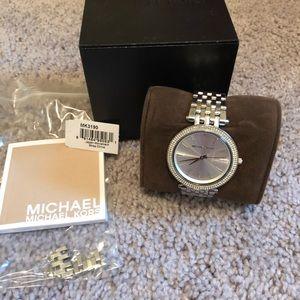 Michel Kory Watch Silver